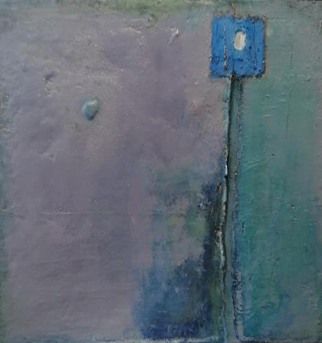 Marion Eßling, Vergiss mich nicht, Abstraktes, Abstrakte Kunst, Expressionismus