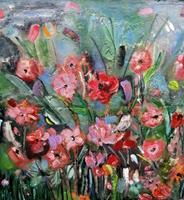 Marion-Essling-Pflanzen-Blumen-Moderne-Abstrakte-Kunst