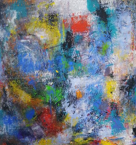 Marion Eßling, Tanz der Seele, Fantasie, Abstraktes, Abstrakte Kunst