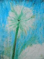 Melle-Pflanzen-Blumen-Moderne-expressiver-Realismus