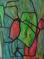 Melle-Abstraktes-Fantasie-Moderne-Expressionismus