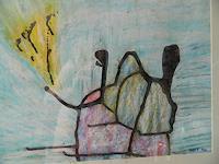 Melle-Fantasie-Abstraktes-Moderne-Abstrakte-Kunst
