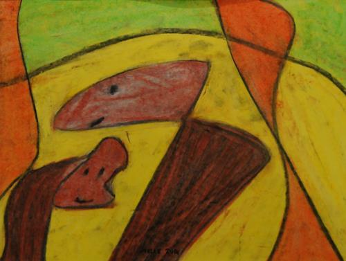 Melle, Kasperltheater, Zirkus, Bewegung, Naive Kunst