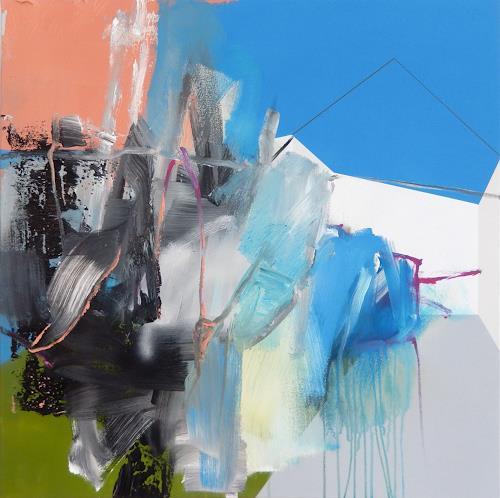 Monika Buchen, reach, Abstraktes, Architektur, Gegenwartskunst, Expressionismus