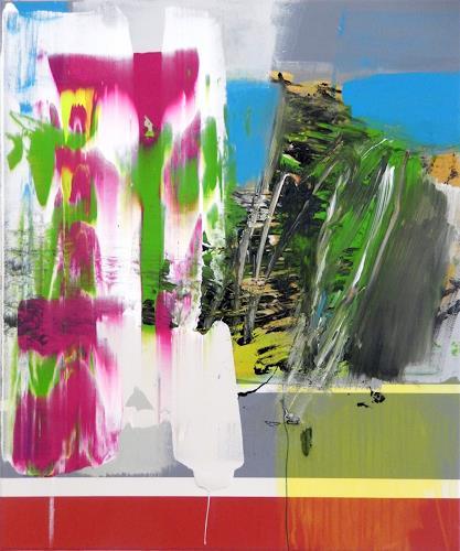 Monika Buchen, unrest, Abstraktes, Architektur, Gegenwartskunst, Abstrakter Expressionismus