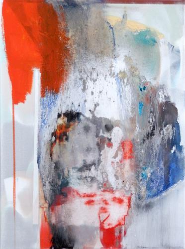 Monika Buchen, two faces, Abstraktes, Gegenwartskunst