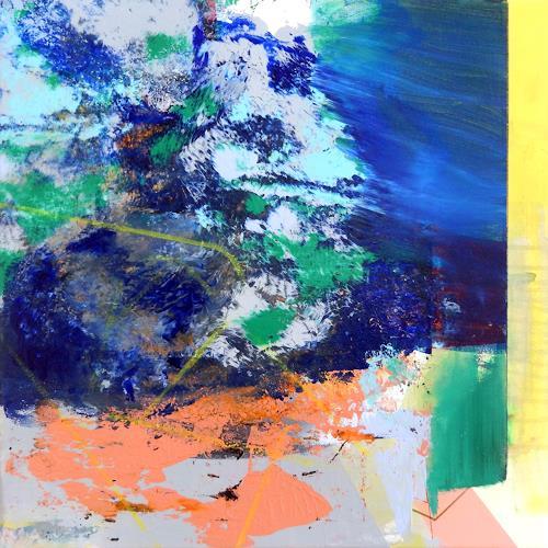 Monika Buchen, o.T., Abstraktes, Bewegung, Gegenwartskunst, Abstrakter Expressionismus
