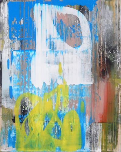 Monika Buchen, o.T., Abstraktes, Gegenwartskunst, Abstrakter Expressionismus