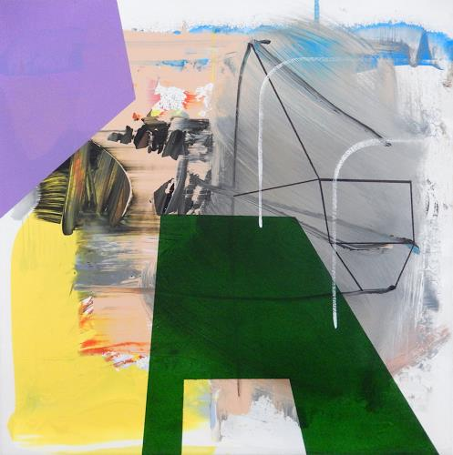 Monika Buchen, drop down, Abstraktes, Architektur, Gegenwartskunst, Abstrakter Expressionismus