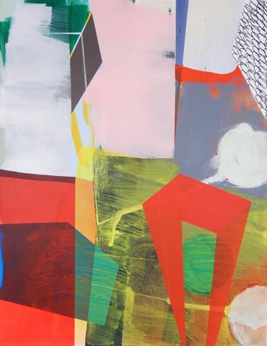 Monika Buchen, twisted world, Abstraktes, Architektur, Gegenwartskunst