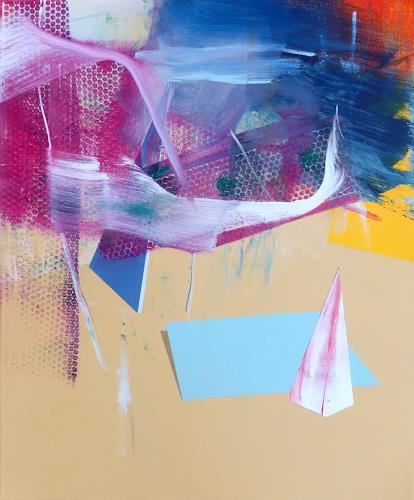 Monika Buchen, starting over, Abstraktes, Architektur, Gegenwartskunst, Expressionismus