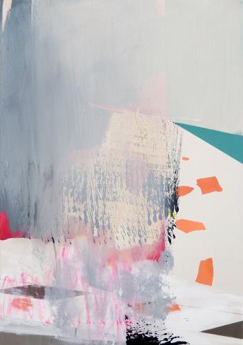 Monika Buchen, o.T., Abstraktes, Architektur, Gegenwartskunst