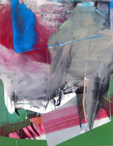 Monika Buchen, Ohne Titel, Abstraktes, Gegenwartskunst