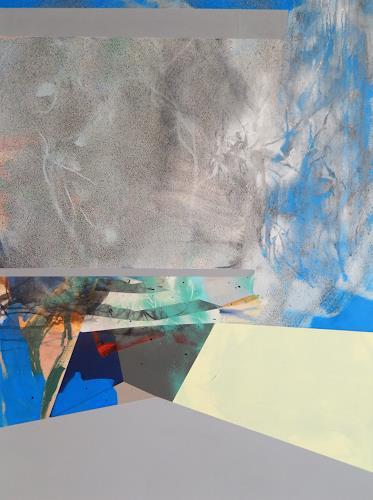 Monika Buchen, ohne Titel, Abstraktes, Architektur, Gegenwartskunst, Expressionismus