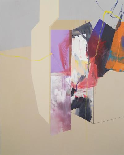 Monika Buchen, blocked, Abstraktes, Architektur, Gegenwartskunst