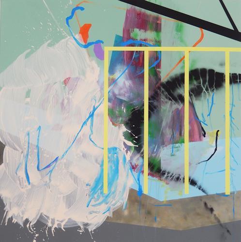 Monika Buchen, back under control?, Abstraktes, Skurril, Gegenwartskunst, Expressionismus