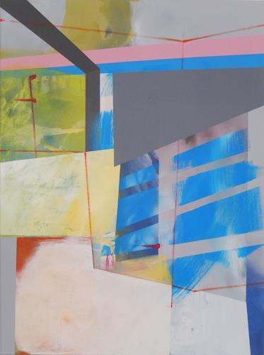 Monika Buchen, shifting, Abstraktes, Architektur, Gegenwartskunst