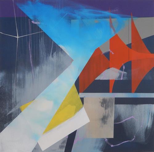 Monika Buchen, displacement, Abstraktes, Skurril, Gegenwartskunst, Abstrakter Expressionismus