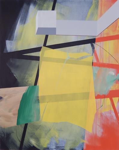 Monika Buchen, passing by, Architektur, Abstraktes, Gegenwartskunst, Abstrakter Expressionismus