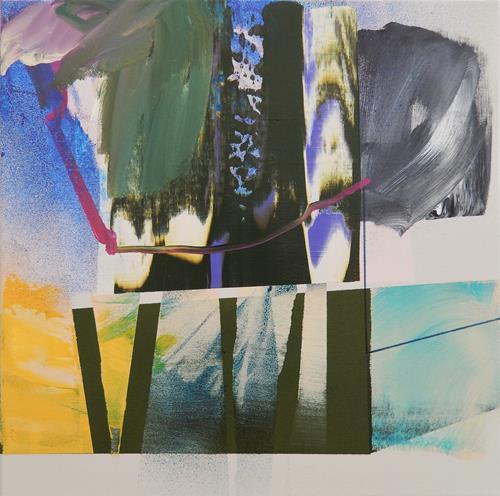 Monika Buchen, connection, Abstraktes, Gegenwartskunst, Expressionismus