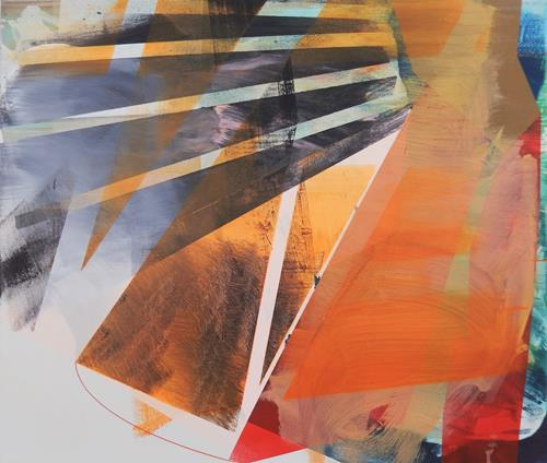 Monika Buchen, still turning, Abstraktes, Architektur, Gegenwartskunst, Abstrakter Expressionismus