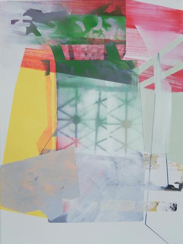 Monika Buchen, Ohne Titel, Abstraktes, Architektur, Gegenwartskunst
