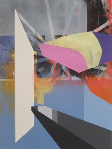Monika Buchen, isolated, Abstraktes, Architektur, Gegenwartskunst, Abstrakter Expressionismus