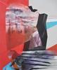 Monika Buchen, dark figures, Abstraktes, Architektur, Gegenwartskunst
