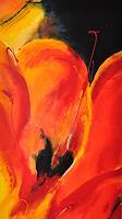 Barbara-Ofner-Pflanzen-Blumen-Dekoratives-Gegenwartskunst-Gegenwartskunst