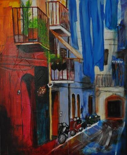Barbara Ofner, Viva Italia, Dekoratives, Wohnen: Stadt, Gegenwartskunst