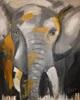 Barbara Ofner, Der Elefant, Tiere: Land, Diverse Tiere, Gegenwartskunst