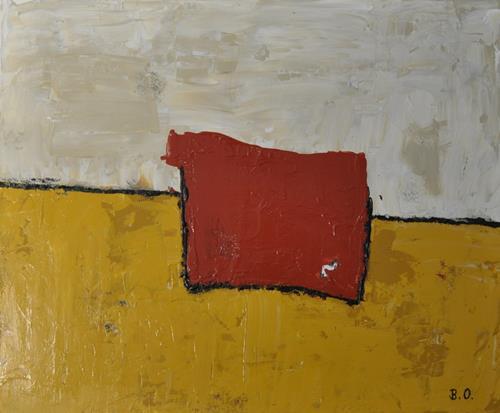 Barbara Ofner, Wüste, Abstraktes, Landschaft: Ebene, Gegenwartskunst, Abstrakter Expressionismus