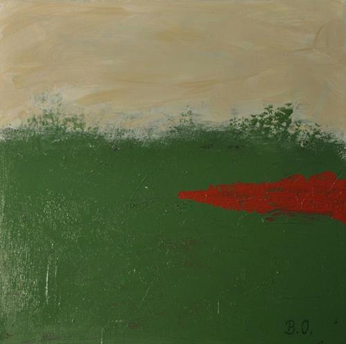 Barbara Ofner, Heide, Abstraktes, Natur, Gegenwartskunst