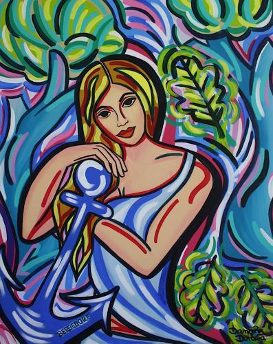 Damaris Dorawa, Idyllic Place, Menschen: Frau, Pop-Art