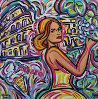 Damaris Dorawa, La bella da Roma