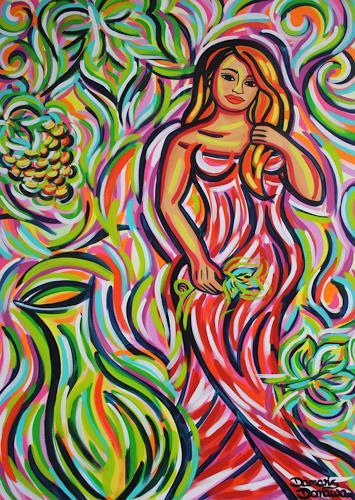 Damaris Dorawa, Summer Wine, Menschen: Frau, Pop-Art