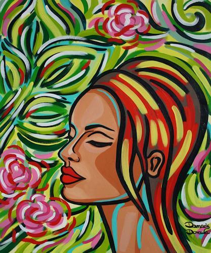 Damaris Dorawa, Bloom, Menschen: Frau, Pop-Art