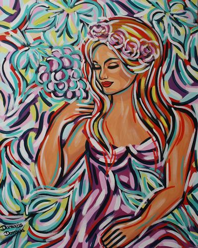 Damaris Dorawa, Summer Pleasures, Menschen: Frau, Pop-Art