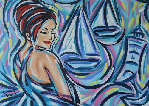Damaris Dorawa, Island, Menschen: Frau, Pop-Art