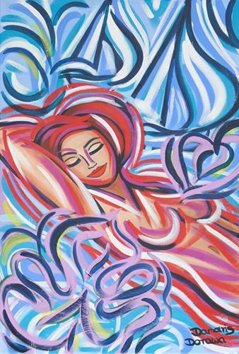 Damaris Dorawa, Sleeping Beauty, Menschen: Frau, Pop-Art