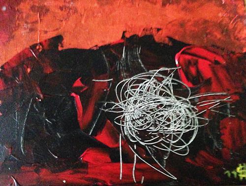 Heidi Schröder, ohne Titel, Abstraktes, Abstrakte Kunst