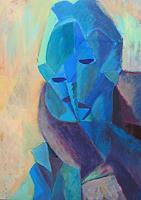 Heidi-Schroeder-Abstraktes-Abstraktes-Moderne-Kubismus