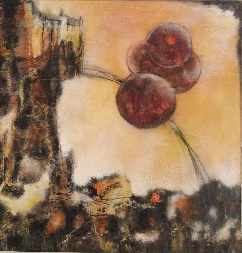 Oli (Olivia) Melly, O. T., Abstraktes, Diverses, Expressionismus
