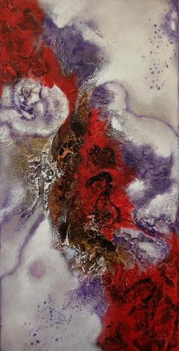 Oli (Olivia) Melly, o. T., Abstraktes, Abstrakte Kunst