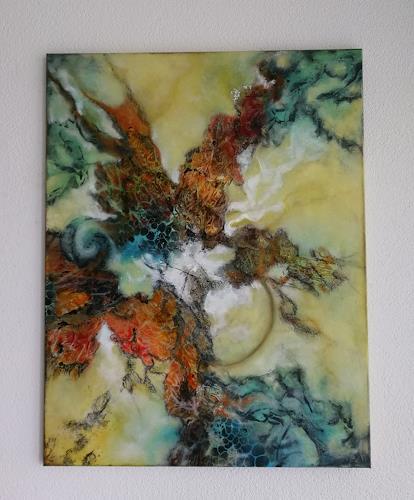 Oli (Olivia) Melly, Ohne Titel, Abstraktes, Gefühle, Abstrakte Kunst