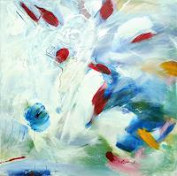 Vera-Komnig-Abstraktes-Abstraktes-Moderne-Expressionismus-Abstrakter-Expressionismus
