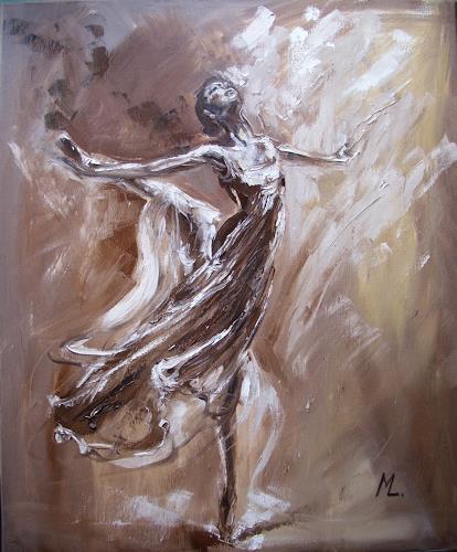 Monika Luniak, GIRL IN BALLET, Bewegung, Musik, Andere, Expressionismus