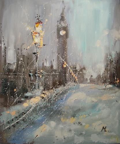 Monika Luniak, LONDON, Bauten, Architektur, Impressionismus, Expressionismus