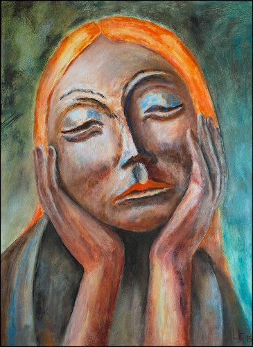 Udo Greiner, In Gedanken, Menschen, Gefühle, Expressionismus