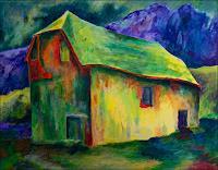 Udo-Greiner-Landschaft-Mythologie-Moderne-Expressionismus
